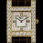 Chopard 18k Y/G MOP Dial Diamond Bezel H Watch B&P....