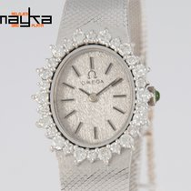 Omega Ladies White Gold 18k and Diamonds Quartz