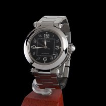 Cartier pasha steel medium size automatic