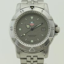 TAG Heuer Professional 1500 Men's Diver Granite Watch Quartz...