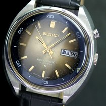 Seiko Bell-matic Alarm Automatic Day Quick Date Steel Mens Watch