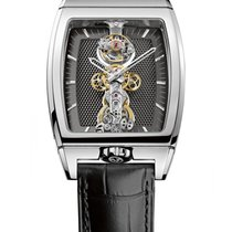Corum 213.150.59/0001 GN11 Golden Bridge Tourbillon in White...