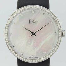 Dior La D Quartz Steel Lady CD043114-J (New)