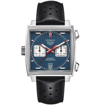 TAG Heuer Monaco  Blue Dial Mens WATCH CAW211P.FC6356