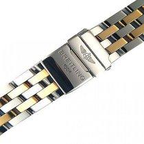 Breitling Zubehör - Armband Pilot Stahl/Gelbgold 20/22/24mm