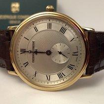 Frederique Constant Slimline Classic Gold Steel Silver Roman...