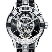 Dior [NEW] Christal Tourbillon Diamants CD115960M001 42mm Ladies