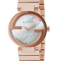 Gucci Interlocking Mother of Pearl Dial YA133515