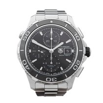 TAG Heuer Aquaracer Chronograph Ceramic Stainless Steel Gents...