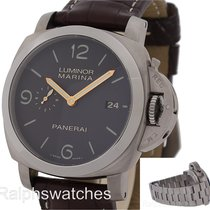 Panerai 44mm Luminor 1950 3 DAYS Titanio Titanium PAM 351 PAM 352
