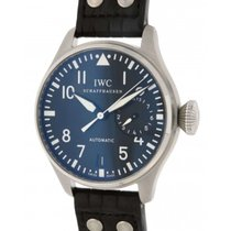 IWC Big Pilot Classic Iw500401 In Steel And Leather 46mm...