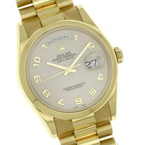 Rolex Daydate President 118238 2000 Smooth Bezel Cream Anniv