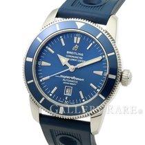 Breitling Super Ocean Heritage 46 Blue Dial Stainless Steel...