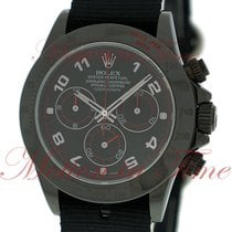 Rolex Cosmograph Daytona, Black Dial with Red Accents - Black...