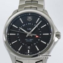 TAG Heuer Link Calibre 7 GMT WAT201A  54% off retail