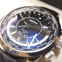Vulcain Cricket Steel GMT - 100108.028 - FULL SET