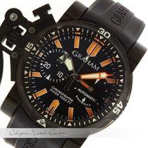 Graham Chronofighter Oversize Diver Deep Orange Stahl 2OVEZ.B2...