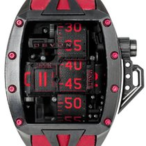 "Devon Tread 2 RedRum ""Murder"" Stainless Steel Black and Red"