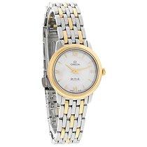 Omega De Ville Prestige Ladies MOP 2Tone Swiss Quartz Watch...