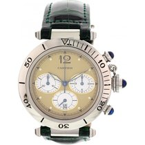 Cartier Men's Pasha de Cartier Chronograph Stainless Steel...