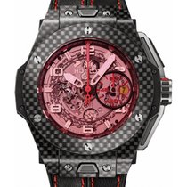 Hublot Big Bang Unico Ferrari 401.QX.0123.VR Skeleton Pink...