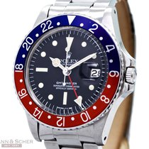 Rolex Vintage GMT-Master Radial Dial Ref-1675 Stainless Steel...