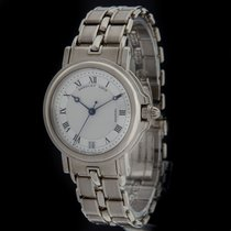 Breguet White Gold Marine Midsize 33mm 4400BB