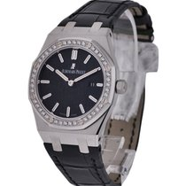 Audemars Piguet Royal Oak Ladys Stainless Steel with Diamond...