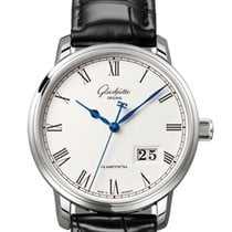 Glashütte Original [NEW] Senator Panoramadatum 100-03-32-42-04...