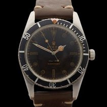 Rolex Submariner Red Triangle Bezel with Gilt Dial Stainless...