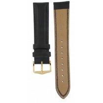 Hirsch Ascot Black Calf Leather Strap 20mm
