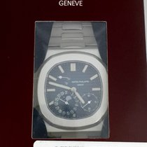 Patek Philippe Nautilus Stainless Steel Blue Dial Double Sealed