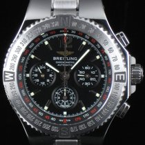 Breitling Hercules Chronograph Steel Automatic Full Set