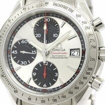 Omega Polished Omega Speedmaster Date Steel Automatic Mens...