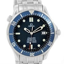 Omega Seamaster 300m Bond Blue Wave Dial Automatic Watch...