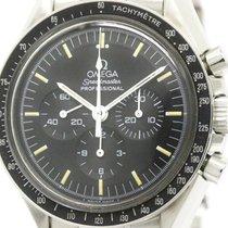 Omega Polished Omega Speedmaster Professional Steel Moon Watch...