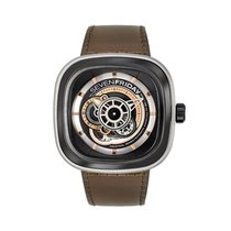 Sevenfriday P2B/01 Stainless Steel / Grey PVD