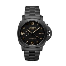 Panerai Luminor 1950 Tuttonero 3 Days GMT Automatic Ceramica ...