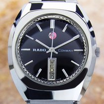 Rado Conway Swiss Made Vintage Day Date Automatic 1970s Watch...