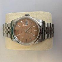 Rolex Datejust SS Pink Dial Rare Jubilé-Band (Timepiece L.A)