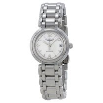 Longines Prima Luna White Dial Stainless Steel Ladies Watch...