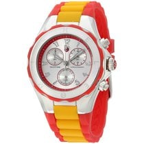 Michele Mww12f000067 40 Mm Tahitian Jelly Bean Silicone Strap...