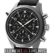 IWC Pilot Collection Pilot Double Chronograph Ceramic Limited...