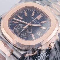 Patek Philippe Nautilus Steel and Rose Gold