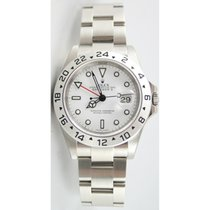 Rolex Explorer II 16570 White Face Perfect Flawless Condition