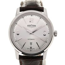 Vulcain 50s Presidents' Classic 42 Silver-toned Dial