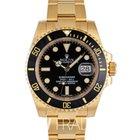 Rolex ロレックス (Rolex) Submariner Gelbgold 116618LN(NEW)