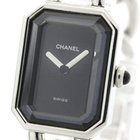 Chanel Premiere Size Xl Steel Quartz Ladies Watch H0452...