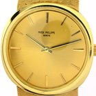 Patek Philippe Ref 3544/1 Mens Watch Solid Yellow Gold Manuel...