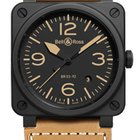 Bell & Ross Aviation BR03 BR03-92-HERITAGE-CERAMIC